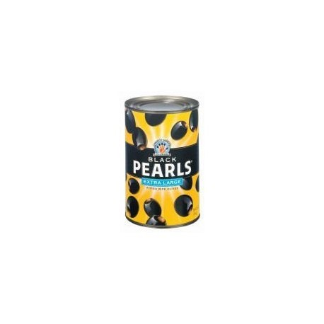 Musco Family Black Pearls Extra Large Pitted Ripe Olives Pack of 8
