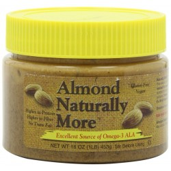 Naturally More Almond Butter Natural, 16-Ounce