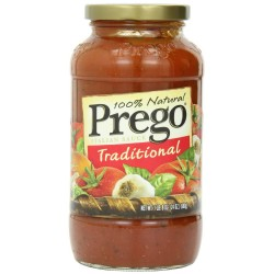 Prego 100% Natural Traditional Pasta Sauce 24 oz