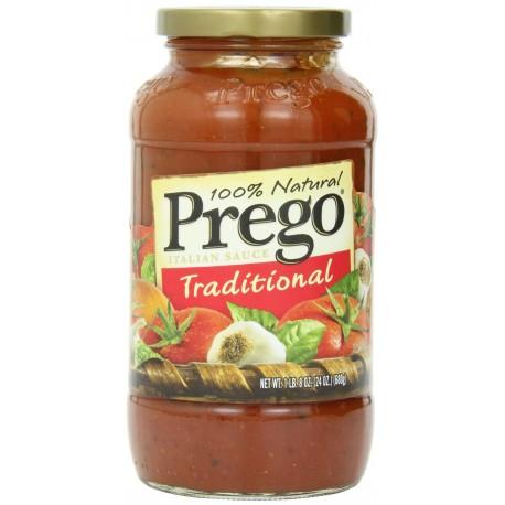 Prego 100% Natural Traditional Pasta Sauce 24 oz
