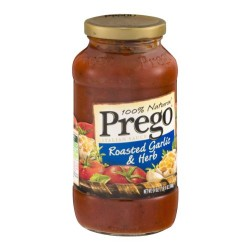 Prego 100% Natural Roasted Garlic & Herb Italian Sauce 24 oz