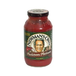 Newman's Own Marinara and Mushroom Pasta Sauce - 24 oz