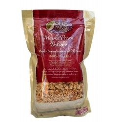 Open Nature 100% Natural, Maple Pecan Deluxe Granola Cereal, 12 Ounce Bags