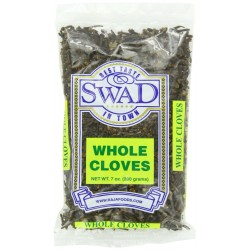 Swad Indian Spice Cloves, Whole, 7 Ounce