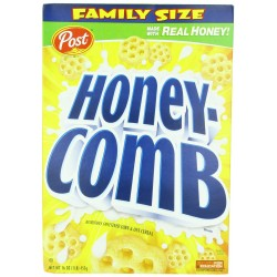 Post Honey-Comb Cereal, 16-Ounce Boxes