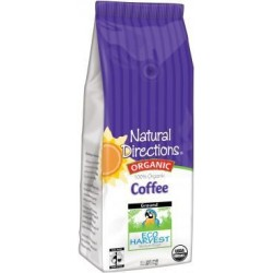 100% Organic Eco Harvest Coffee 12 Oz. [Pack of 2]