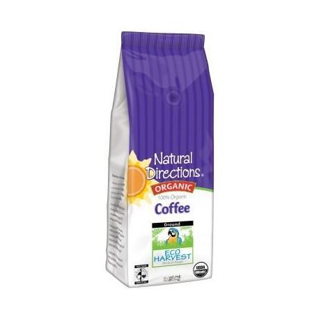 100% Organic Eco Harvest Coffee 12 Oz. [Pack of 2]