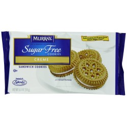 Murray Sugar Free Cookies Creme Sandwich, 6.5-Ounce Packages