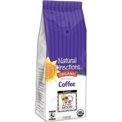 100% Organic Aztec Moon Coffee 12 Oz. [Pack of 2]