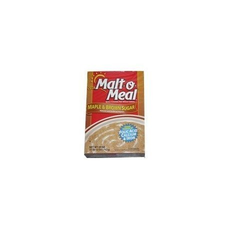 Malt-O-Meal Maple And Brown Sugar - Hot Cereals 28 Ounce