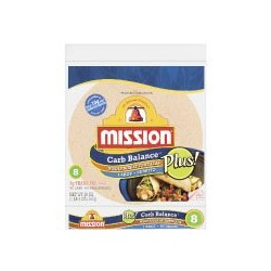 Mission Carb Balance Large/Burrito Whole Wheat Tortillas 8 per package