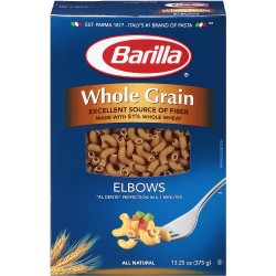 Barilla Whole Grain Pasta 16 Oz - Elbo