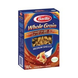 Barilla Whole Grain Medium Shells Pasta, 13 Oz