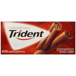 Trident Gum, Cinnamon 3 X  18-Stick Packs