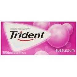Trident Gum, Bubblegum, 3 X 18-Count