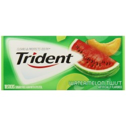 Trident Gum, Watermelon Twist 3 X 18-Stick