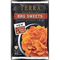 Terra Krinkle Cut BBQ Sweets  5.75 oz Bags