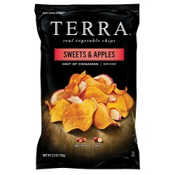 TERRA Sweets & Apples, Hint of Cinnamon, 5.5 Ounce