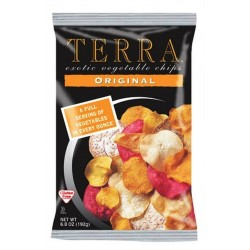 Terra Original Exotic Vegetable Chips, 6.8 Ounce Bags