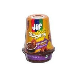Jif To Go Dippers, Chocolate Silk Pretzels 1.69 oz