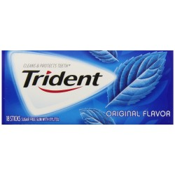 Trident Original 3 X 18 Piece Pack