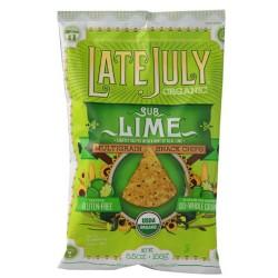 Late July Snacks Organic Multigrain Snack Chips Gluten Free Sublime , 5.5 Oz