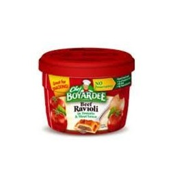 Chef Boyardee Microwavable Beef Ravioli In Tomato & Meat Sauce-7.5 oz Bowls