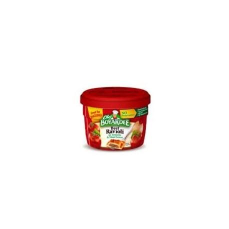 Chef Boyardee Microwavable Beef Ravioli In Tomato & Meat Sauce-7.5 oz Bowls