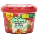 Chef Boyardee Spaghetti & Meatballs in Tomato Sauce, 7.5-Oz. Microwavable Bowl
