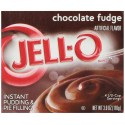 Jell-O Instant Pudding and Pie Filling, Chocolate Fudge, 3.9-Ounce Boxes