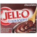 Jell-O Cook and Serve Pudding and Pie Filling, Chocolate, 5-Ounce Boxes