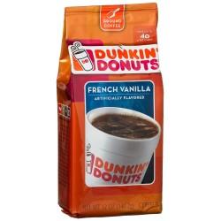 Dunkin' Donuts French Vanilla Ground Coffee, 12 oz