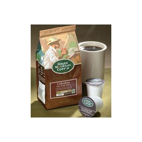 Green Mountain Colombian Fair Trade, Ground Coffee, 10 oz. Bag