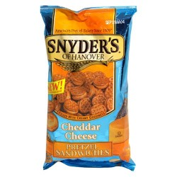 Snyder's of Hanover Cheddar Cheese Pretzel Sandwiches, 8-Ounce