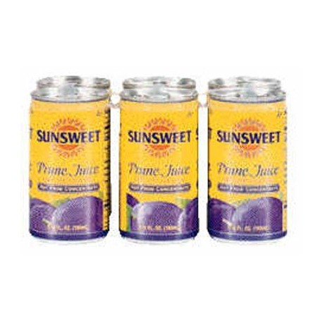 Sunsweet Juice Sunsweet Prun, 5.5-ounce Canisters (Pack of 6)