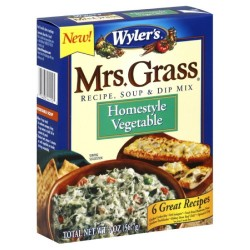 Mrs. Grass Soup & Dip Mix Homestyle Vegetable, 2-ounces