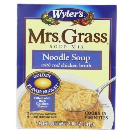 Mrs. Grass Soup Mix, Noodle, 5 Ounce