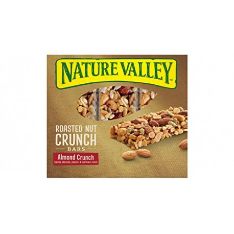Nature Valley, Roasted Nut Crunch, Almond Crunch  6 Count,7.2 Ounce