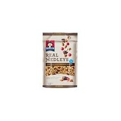 Quaker Real Medleys Breakfast Pouches Dark Chocolate Cranberry  Almond, 11-Ounce