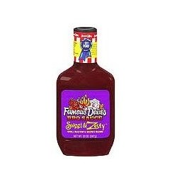 Famous Dave's Sweet & Zesty Barbeque Sauce 20 oz