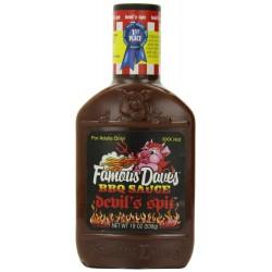 Famous Dave's BBQ Sauce Devil's Spit, 19-Ounce