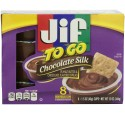 Jif to Go Chocolate Silk Peanut Butter & Chocolate Flavored Spread 8-1.5 oz. Cups