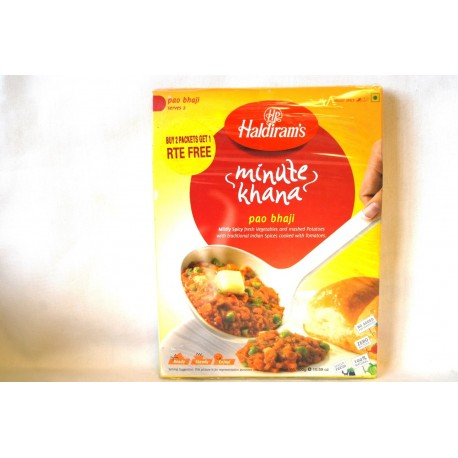 Haldirams Readdy - To - Eat  Pao bhaji