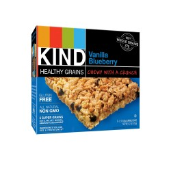 Kind Healthy Grains Granola Bars Vanilla Blueberry, 175 g , 5 Bar Box