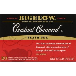 Bigelow Constant Comment Tea, 20-Count Boxes (Pack of 3)