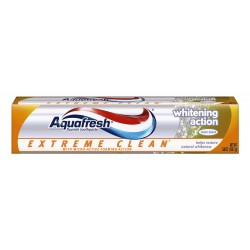 Aquafresh Extreme Clean Whitening Action Toothpaste, 5.6-Ounce