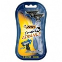 Bic Comfort 3 Advance 4 Shavers in a Pack
