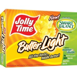Jolly Time Butter Light with Smart Balance 3 Count Box