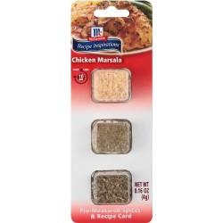 McCormick Recipe Inspirations Chicken Marsala, 0.16 oz