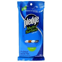 Pledge Multi-Surface Wipes - 25 ct